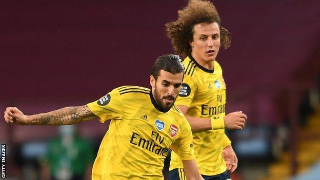 Dani Ceballos ve David Luiz