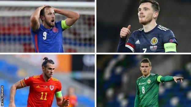 Harry Kane, Andy Robertson, Gareth Bale ve Steven Davis