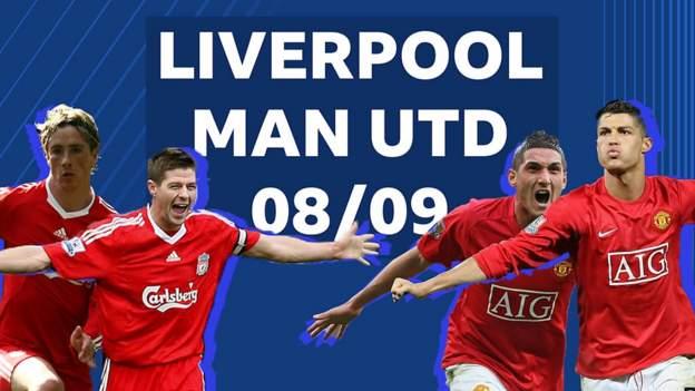 liverpool v man utd: takımlar son kez premier league şampiyonluk yarışındaydı