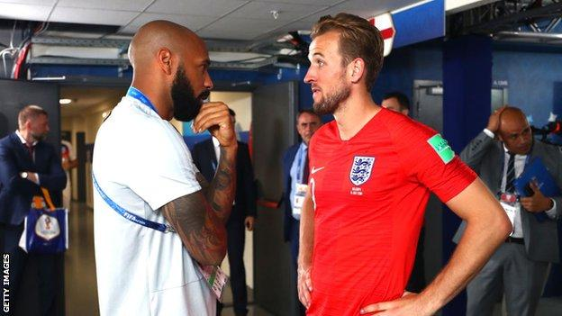 thierry henry ve harry kane